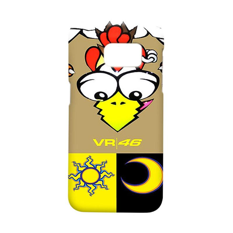 Indocustomcase Valentino Rossi RB01 Casing for Samsung Galaxy S7 Edge
