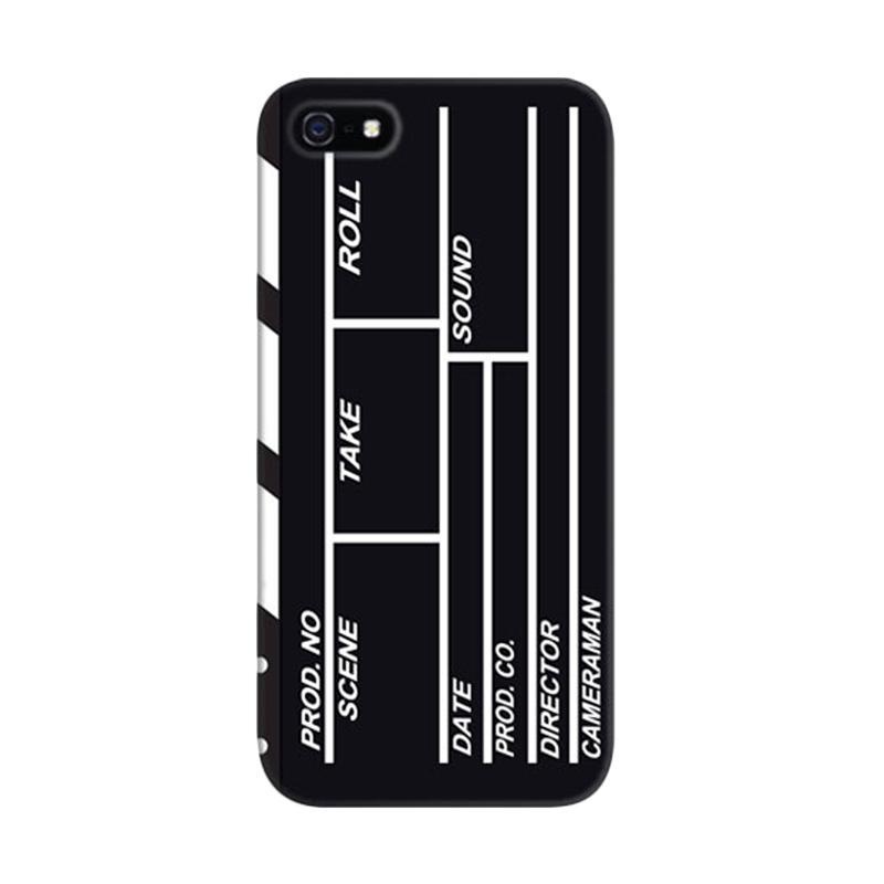 Indocustomcase Clipper Film Action Custom Hardcase Casing for Apple iPhone 5/5S/SE