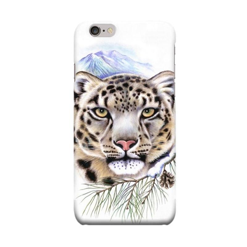 Indocustomcase Tiger Mountain Cover Casing for Apple iPhone 6 Plus or 6S Plus