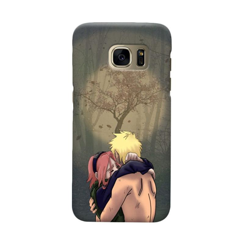 Indocustomcase Anime Naruto Character N08 Cover Casing for Samsung Galaxy S7