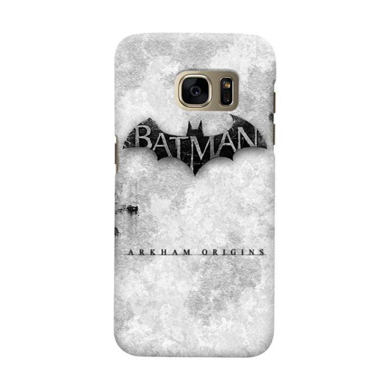 Indocustomcase Batman Arkham Origins Cover Casing for Samsung Galaxy S6 Edge