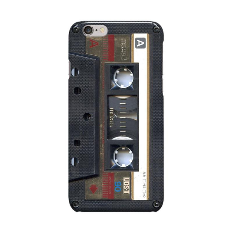 Indocustomcase Cassette Maxell Cover Casing for Apple iPhone 6 Plus or 6S Plus
