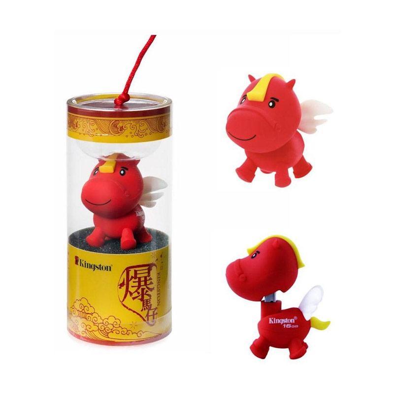 harga Kingston CNY14 Imlek Shio Kuda Terbang Horse USB Flashdisk - Merah [16 GB/Garansi Resmi 1 Tahun] Blibli.com
