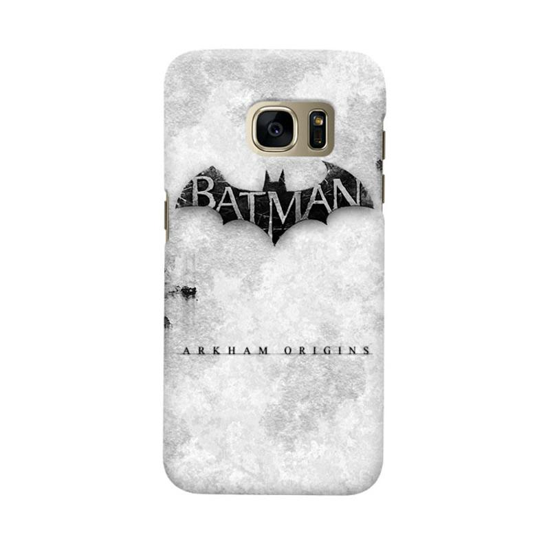 Indocustomcase Batman Arkham Origins Cover Casing for Samsung Galaxy S7 Edge
