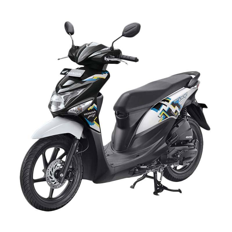 harga Honda All New BeAT eSP FI POP Pixel CBS Sepeda Motor - Harmony Black White [OTR Sumatera Selatan] Blibli.com