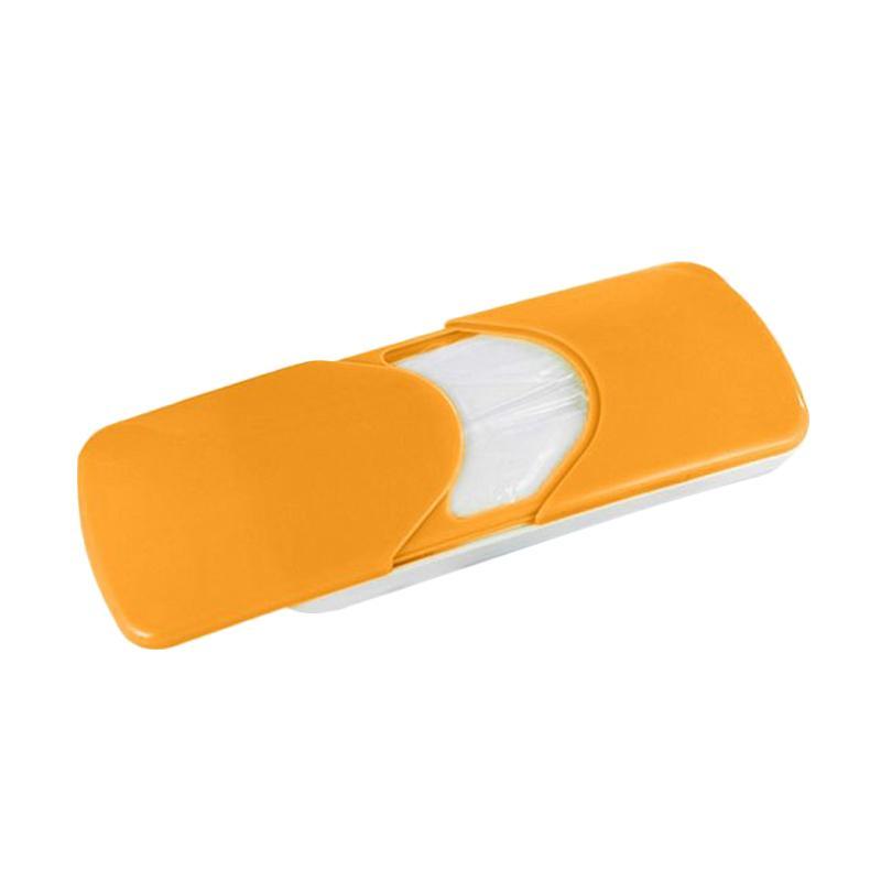 harga Lukiacc Slide Cover Paper Napkin Holder Tissue Box for Universal Car Sun Visor - Kuning Blibli.com