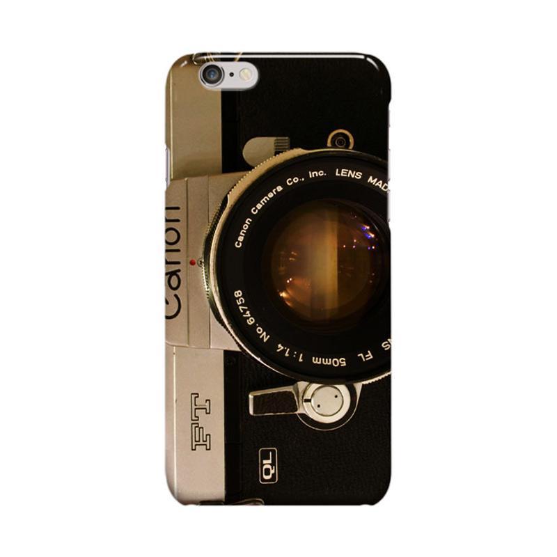 Indocustomcase Camera Canon FT QL Casing for Apple iPhone 6 Plus or iPhone 6S Plus