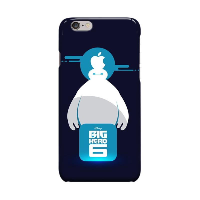 Indocustomcase Cartoon Baymax Big Hero 6 Casing for Apple iPhone 6 Plus or 6S Plus
