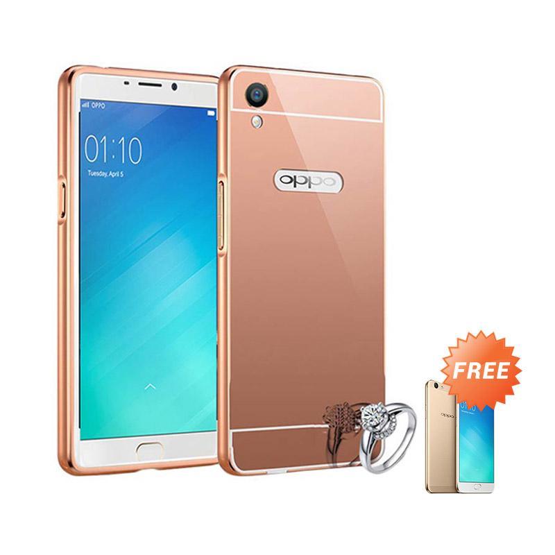 Case Aluminium Bumper Mirror For Infinix Hot 3 X553 Rose Gold Free. Source · Jagostu