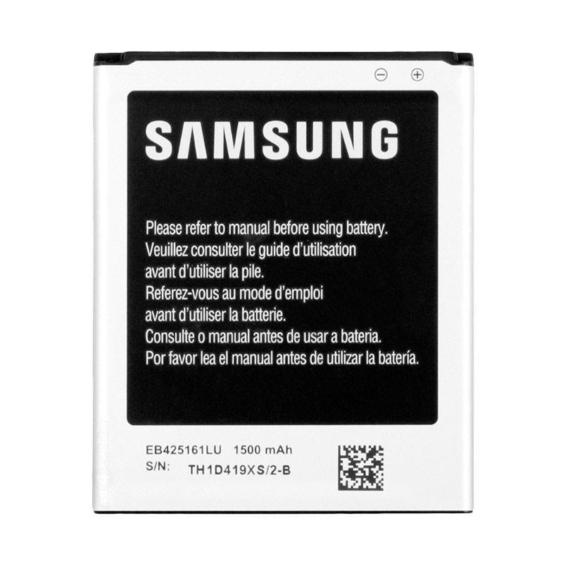 harga Samsung Original EB425161LU Baterai for Samsung Galaxy Ace 2/I8160/S3 MINI (EB-F1M7FLU)/I699/S7562/S7260/i750/Infinite [1500 mAh] Blibli.com