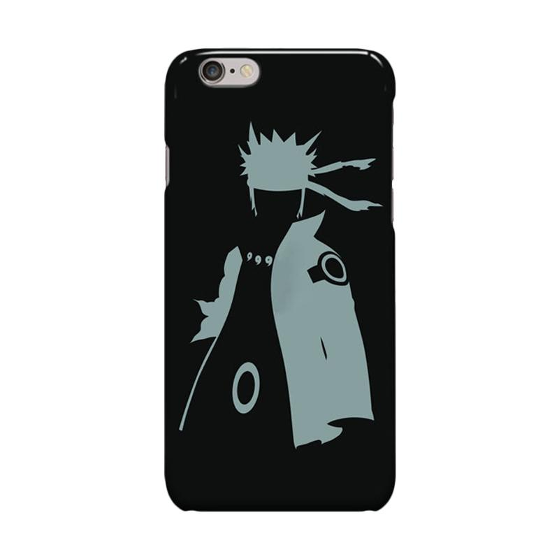 Indocustomcase Anime Naruto Series ID01 Cover Casing for iPhone 6 Plus or 6S Plus