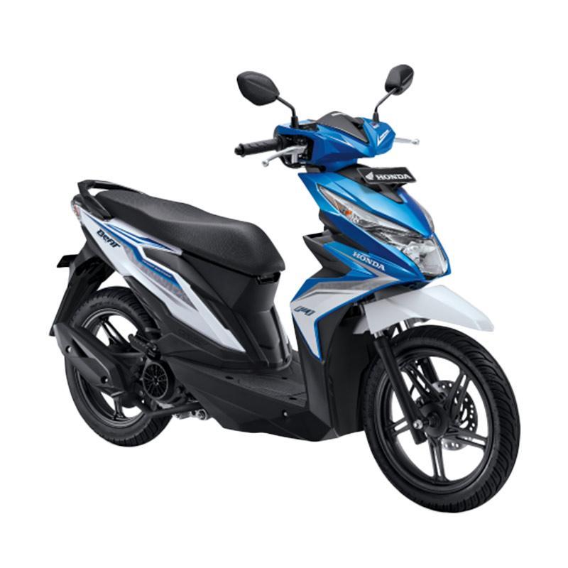 harga Honda All New BeAT eSP FI Sporty CBS ISS Sepeda Motor - Electro Blue White [OTR Kalimantan Barat] Blibli.com