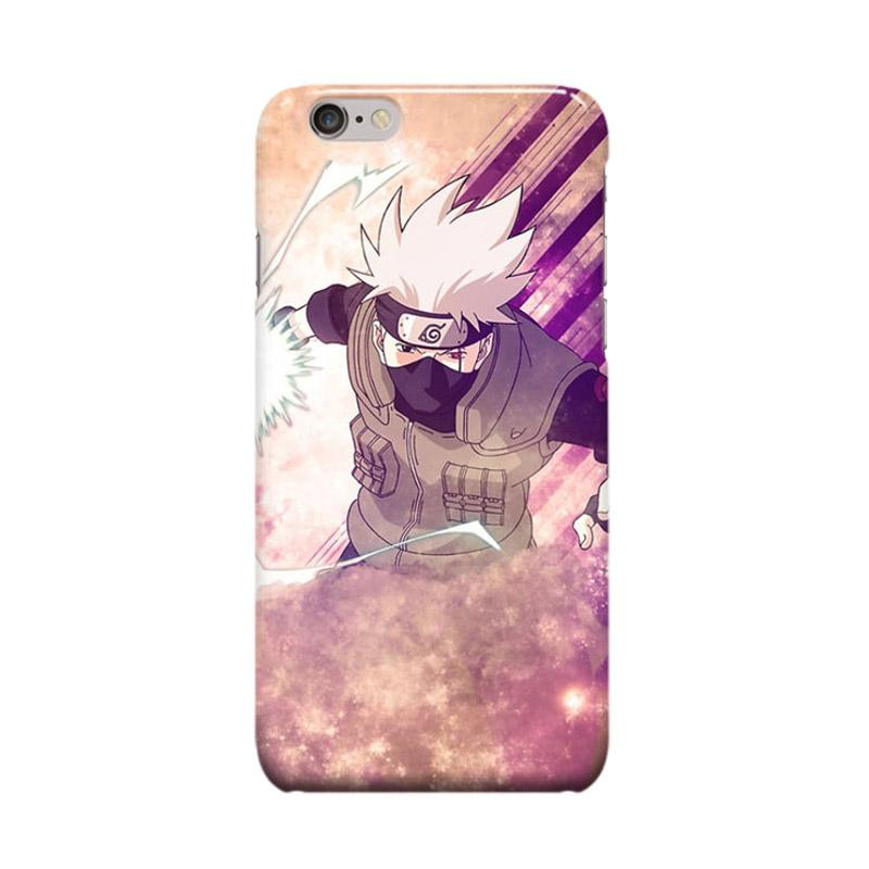Indocustomcase Anime Naruto Series ID12 Cover Casing for iPhone 6 Plus or 6S Plus
