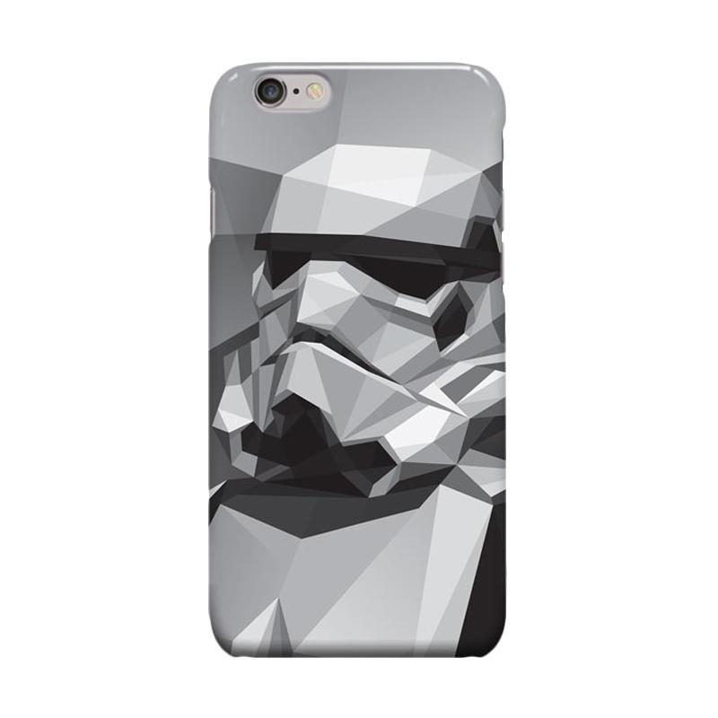 Indocustomcase Stormtrooper Cover Casing for Apple iPhone 6 Plus or 6S Plus