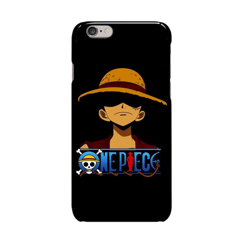 Indocustomcase Anime One Piece Series ID11 Cover Casing for iPhone 6 Plus or 6S Plus