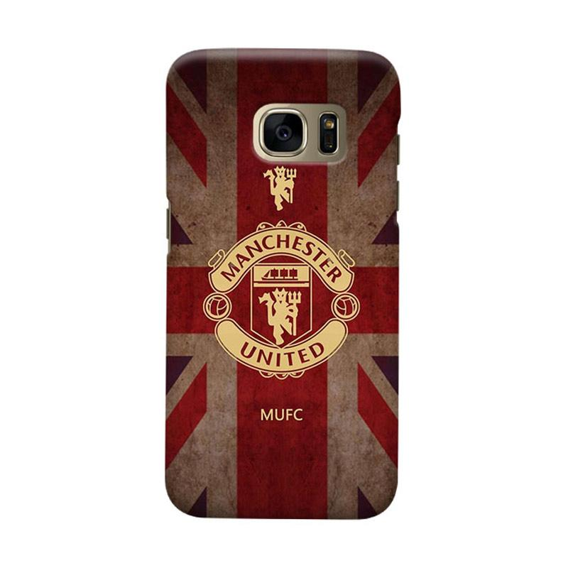 Indocustomcase Manchester United MANUFC02 Cover Casing for Samsung Galaxy S6