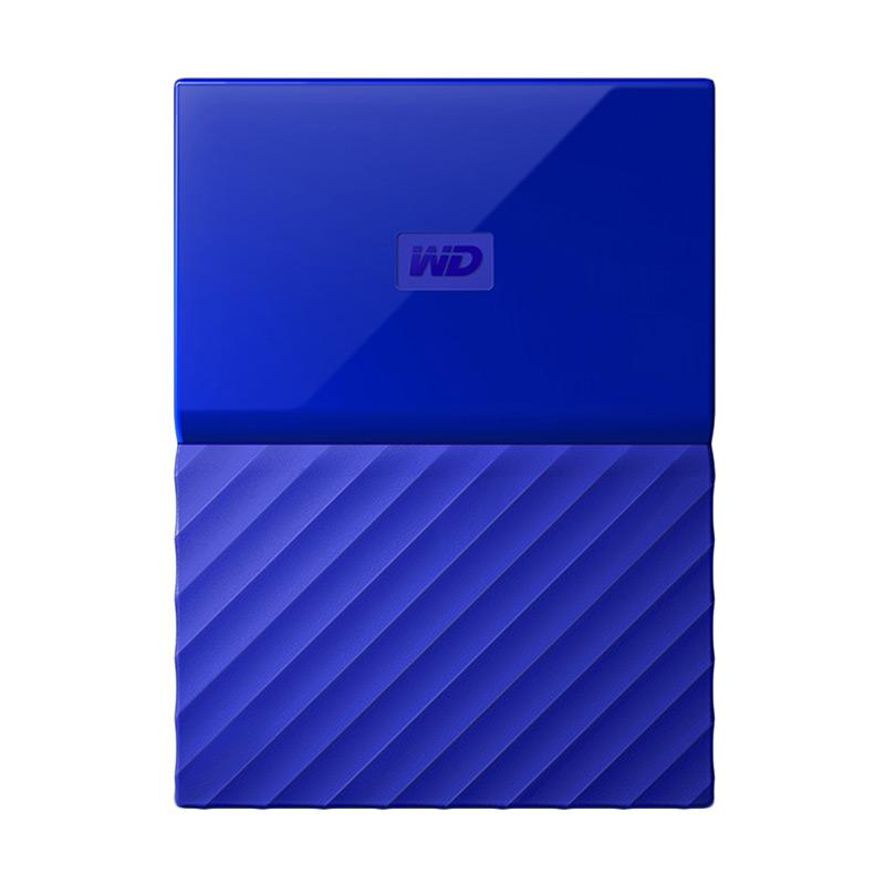 Western Digital My Passport New Design Portable Hard Disk Eksternal Biru 1TB USB 3 0 2 5 Inch