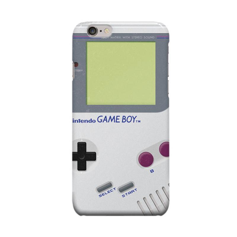 Indocustomcase Nintendo White Game Boy Casing for Apple iPhone 6 Plus or 6S Plus
