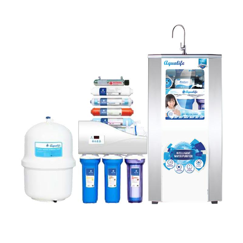 Ohome Aqualife Cabinet Dispenser 9 Stage 100 GPD Filter Saringan Air Minum - Putih