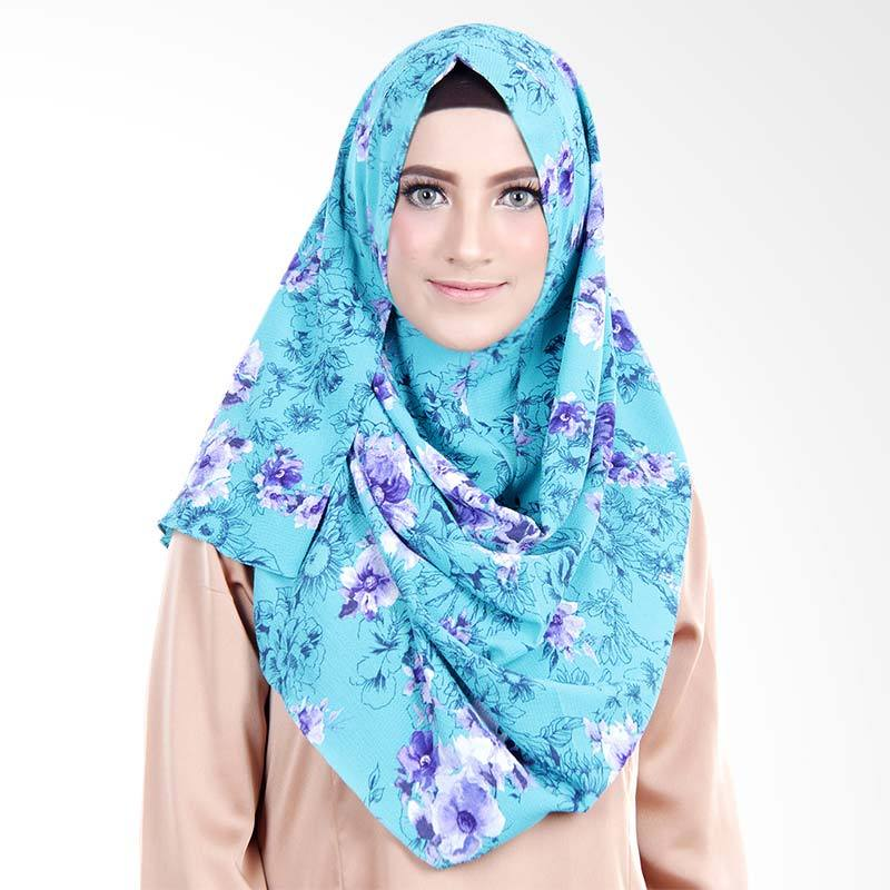 Cantik Kerudung No.8 Ariana Printed Spectacles & Earphone Friendly Pashmina Instan