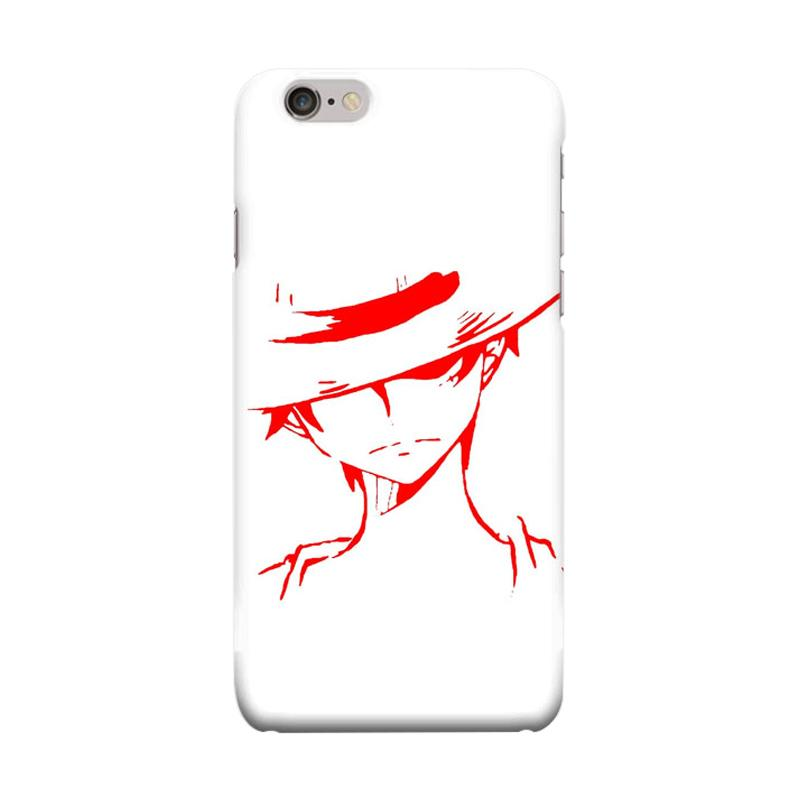 Indocustomcase Anime One Piece Series ID03 Cover Casing for iPhone 6 Plus or 6S Plus