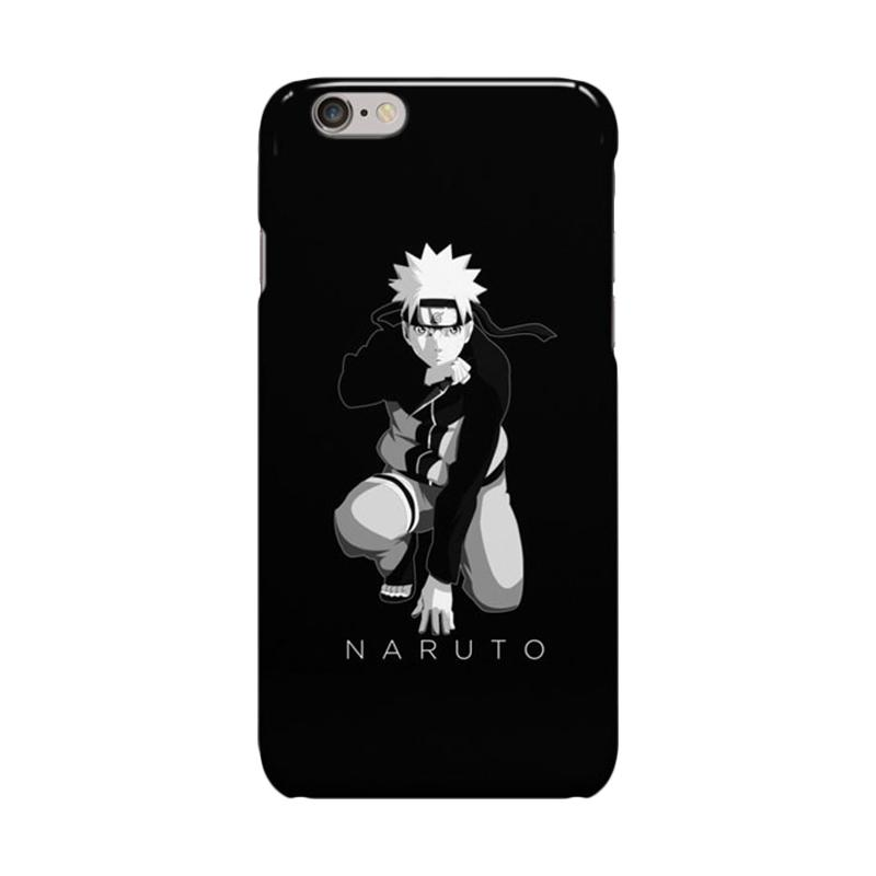 Indocustomcase Anime Naruto Series ID16 Cover Casing for iPhone 6 Plus or 6S Plus