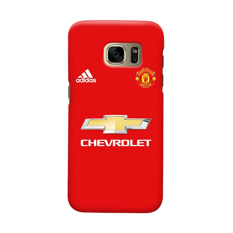 Indocustomcase Manchester United MANUFC05 Cover Casing for Samsung Galaxy S6