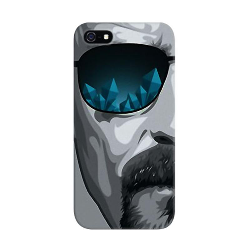 Indocustomcase Breaking Bad Heisenberg Custom Hardcase Casing for Apple iPhone 5/5S/SE