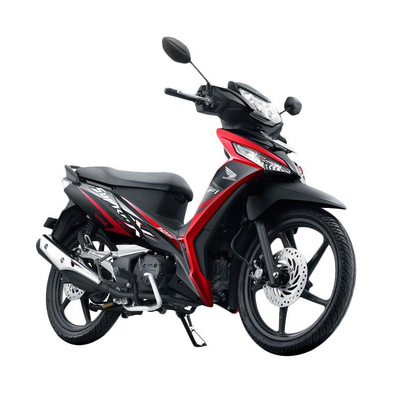 harga Honda New Supra X 125 Fi Sporty Sepeda Motor - Aggressive Energetic Black [OTR Sulawesi Selatan] Blibli.com