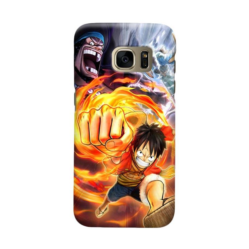 Indocustomcase Anime One Piece Character OP11 Casing for Samsung Galaxy S7