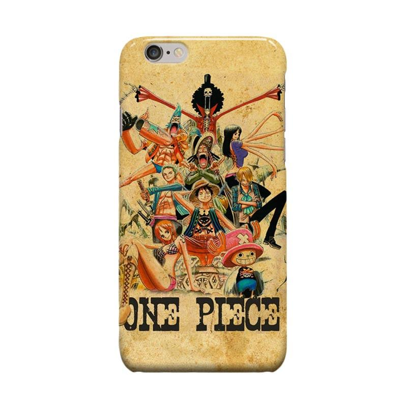 Indocustomcase Anime One Piece Series ID16 Cover Casing for iPhone 6 Plus or 6S Plus