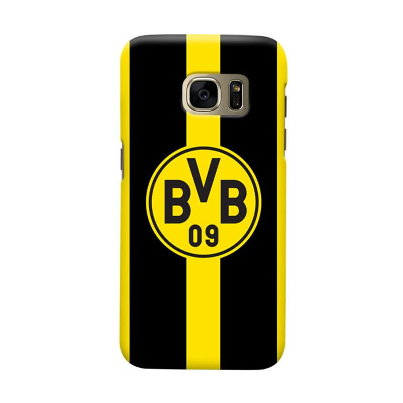 Indocustomcase Borussia Dortmund FC Casing for Samsung Galaxy S7 Edge