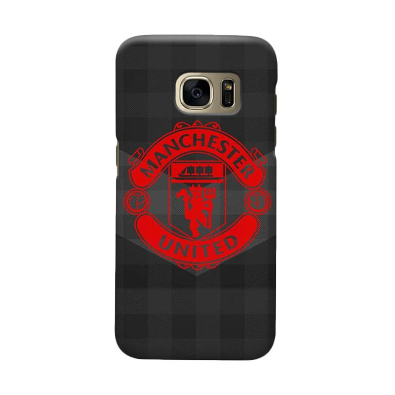 Indocustomcase Manchester United MANUFC07 Cover Casing for Samsung Galaxy S6