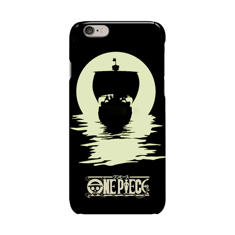 Indocustomcase Anime One Piece Series ID17 Cover Casing for iPhone 6 Plus or 6S Plus