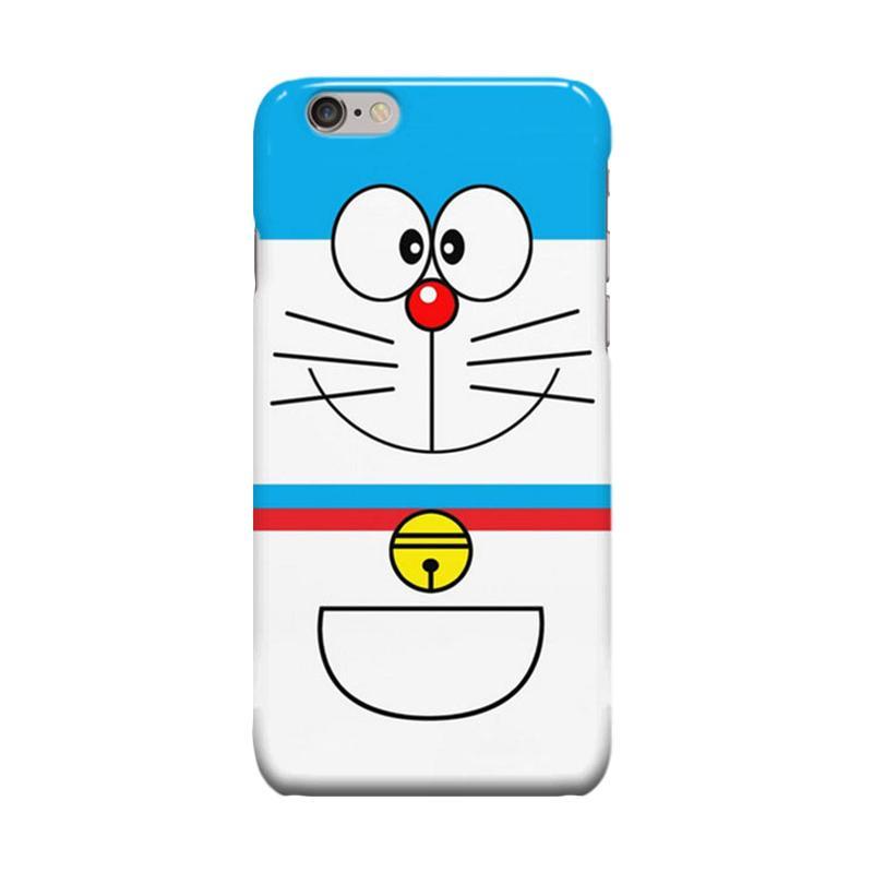 Indocustomcase Cartoon Doraemon Cover Casing for Apple iPhone 6 Plus or 6S Plus