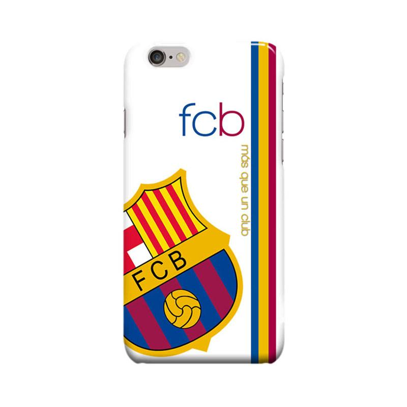 Indocustomcase FC Barcelona Logo FCB01 Cover Casing for Apple iPhone 6 Plus or 6S Plus