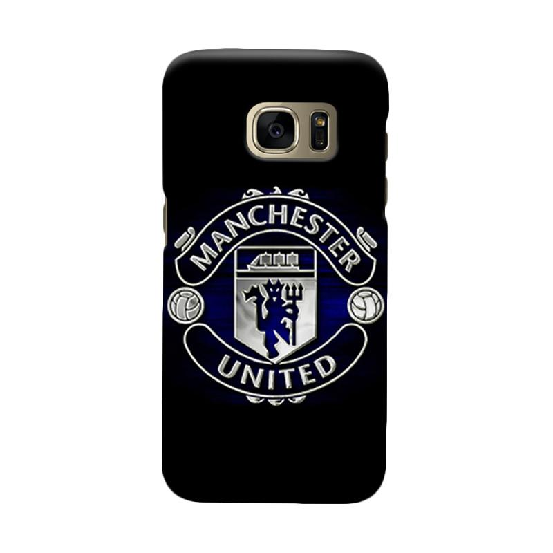 Indocustomcase Manchester United MANUFC08 Cover Casing for Samsung Galaxy S6