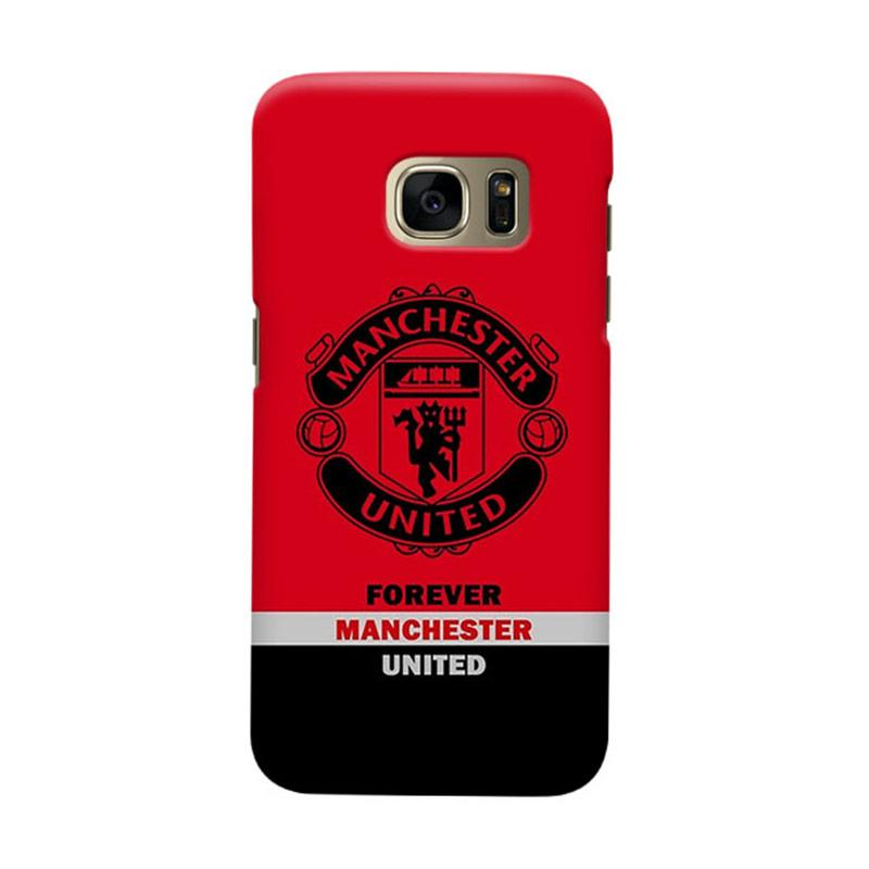 Indocustomcase Manchester United MANUFC09 Cover Casing for Samsung Galaxy S6
