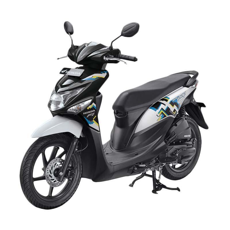 harga Honda All New BeAT eSP FI POP Pixel CBS Sepeda Motor - Harmony Black White [OTR Nusa Tenggara Barat] Blibli.com