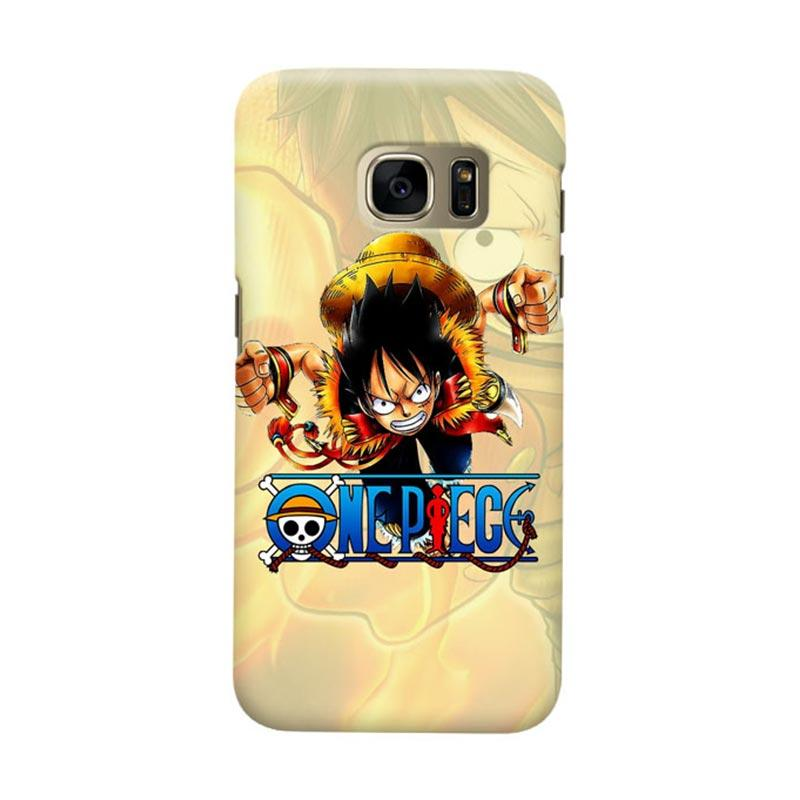 Indocustomcase Anime One Piece Character OP15 Cover Casing for Samsung Galaxy S6