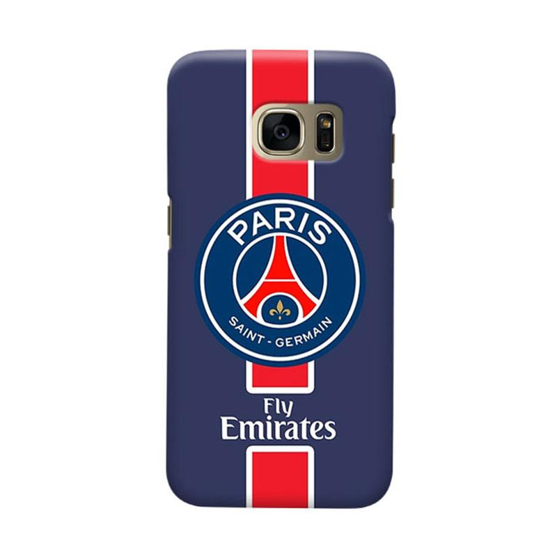 Indocustomcase Paris Saint Germain FC PSG01 Cover Casing for Samsung Galaxy S6