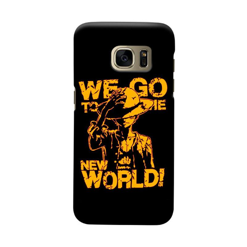 Indocustomcase We Go To The New World Cover Hardcase Casing for Samsung Galaxy S7 Edge