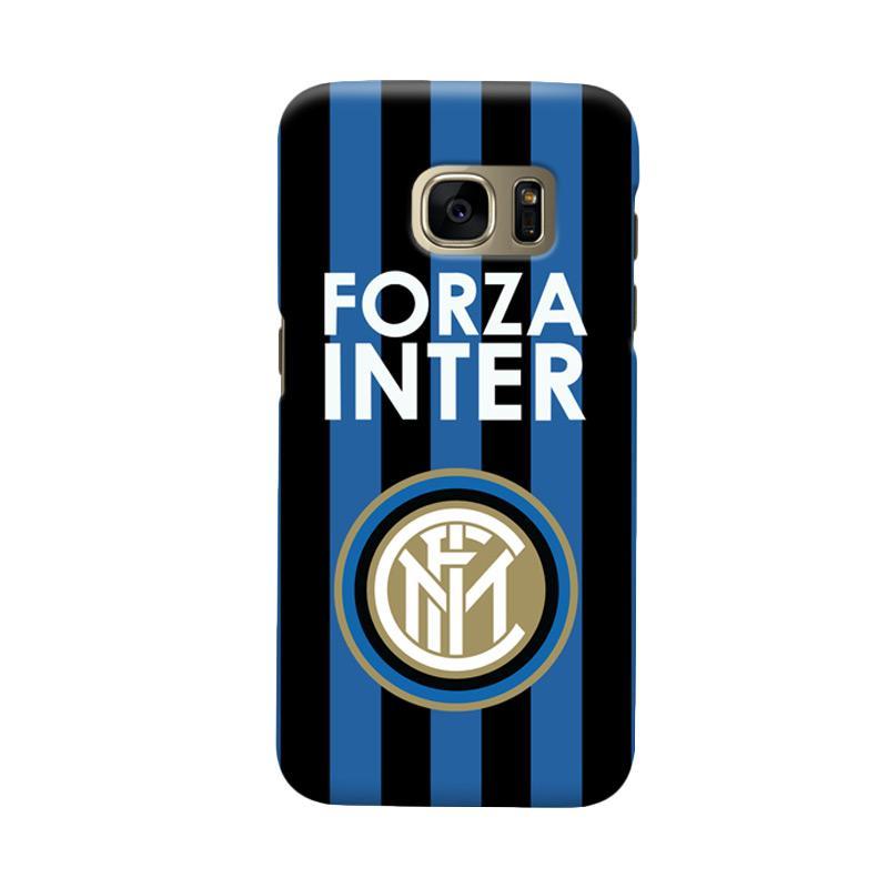 Indocustomcase FC internazionale Milan IM02 Cover Casing for Samsung Galaxy S7 Edge
