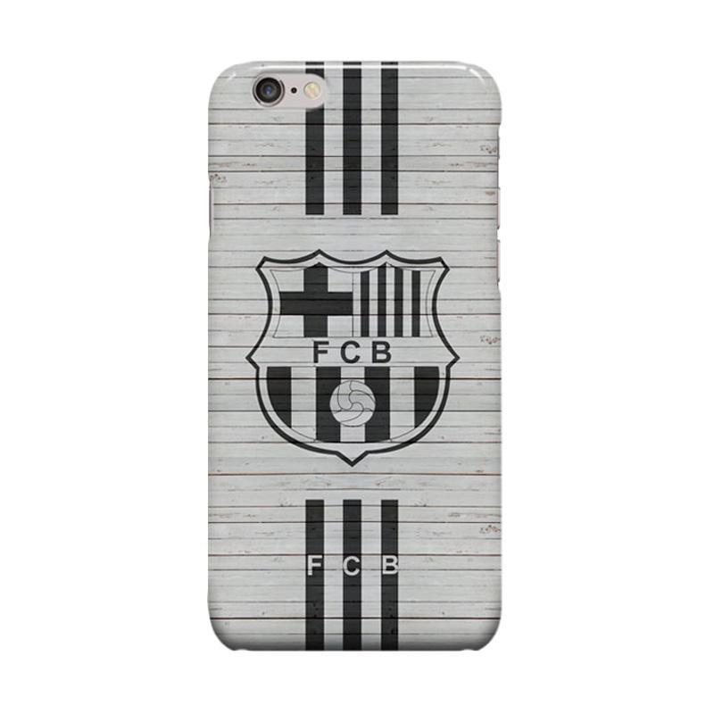 Indocustomcase FC Barcelona Logo FCB06 Cover Casing for Apple iPhone 6 Plus or 6S Plus