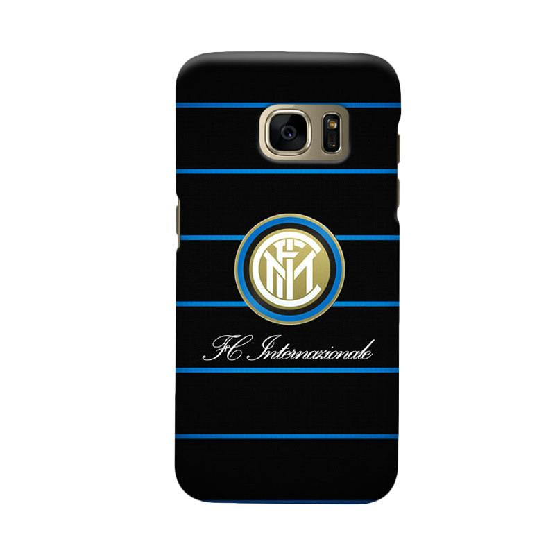 Indocustomcase FC internazionale Milan IM03 Cover Casing for Samsung Galaxy S7 Edge