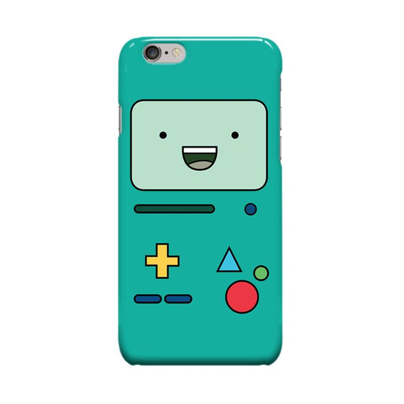 Indocustomcase BMO Jake Adventure Cover Casing for Apple iPhone 6 Plus or 6S Plus