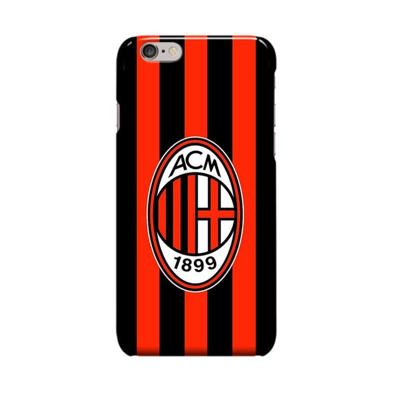 Indocustomcase AC Milan FC ACM04 We Are AC Milan Cover Casing for Apple iPhone 6 Plus or 6S Plus