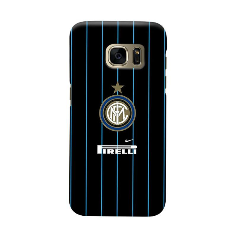 Indocustomcase FC Internazionale Milan IM06 Cover Casing for Samsung Galaxy S6