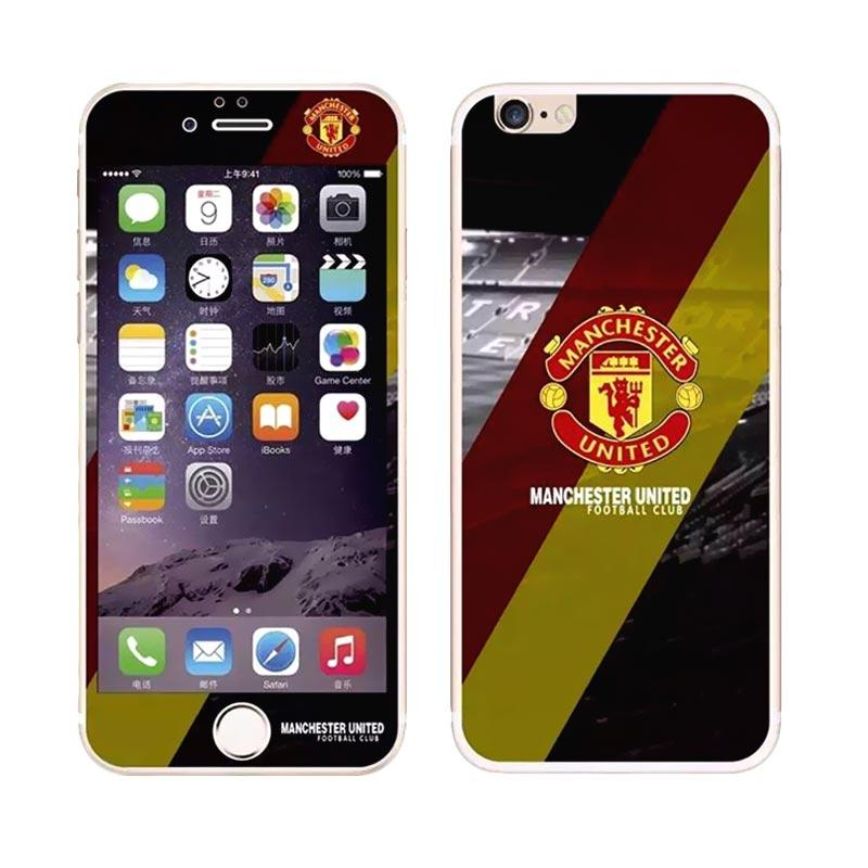 harga Winner Manchester United (MU) Limited Edition Tempered Glass Skin Protector for iPhone 6
