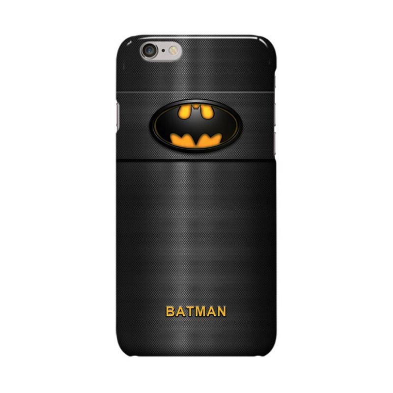 Indocustomcase Batman Logo On Fiber Cover Casing for Apple iPhone 6 Plus or 6S Plus